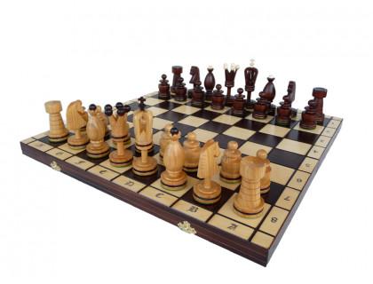 Шахматы Королевские инкрустированные медной нитью большие оптом