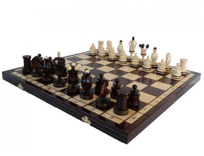 Шахматы Королевские инкрустированные медной нитью (Royal) оптом
