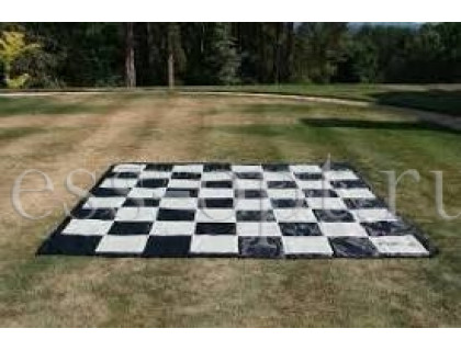 Поле шахматное пластиковое большое с обрамлением
