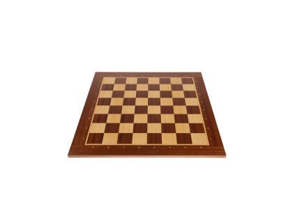 Доска шахматная Турнирная Махагон 50 оптом