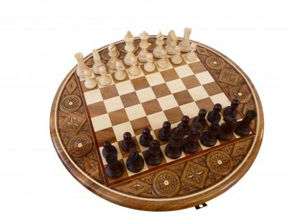 Шахматы Рубин большие оптом