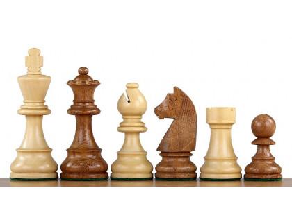 Шахматные фигуры German Knight Acacia, 9,5 см оптом