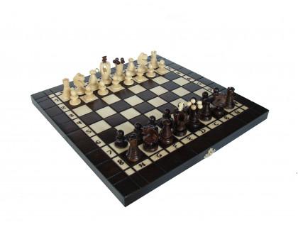 Набор 3 в 1 - шахматы, шашки, нарды Люкс оптом
