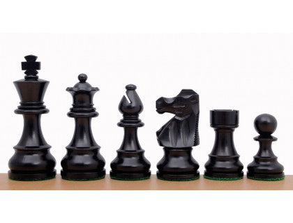 Шахматные фигуры French Ebonized, 9,5 см оптом