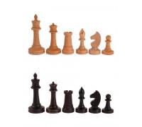 Фигуры деревянные шахматные Баталия №5 с утяжелителем