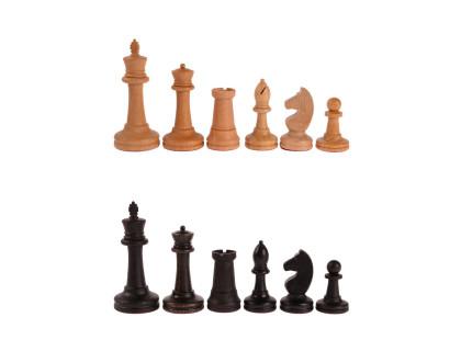 Фигуры деревянные шахматные Баталия №5 без утяжелителя оптом