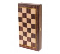 Доска складная деревянная турнирная шахматная Баталия 37