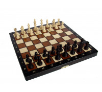 Шахматы магнитные деревянные малые
