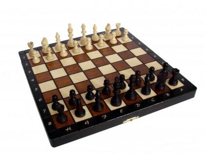 Шахматы магнитные деревянные малые оптом