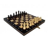Шахматы магнитные деревянные мини