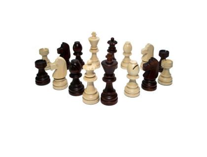 Шахматные фигуры деревянные Стаунтон №7 с утяжелителем оптом