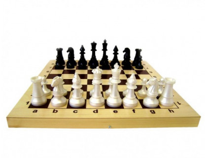 Гроссмейстерские шахматы с пластиковыми фигурами оптом
