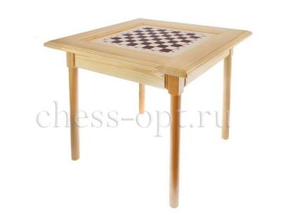 Шахматный стол Гроссмейстерский с фигурами оптом