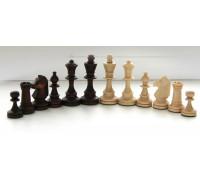 Шахматные фигуры деревянные Стаунтон №4 с утяжелителем