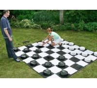 Напольные большие шашки