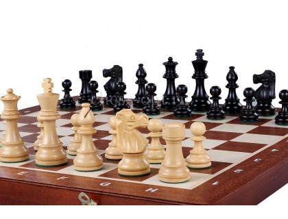 Шахматные фигуры French Acacia, 9,5 см оптом