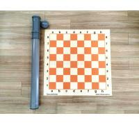 Шахматная демонстрационная доска для школ (в тубусе) 75 см