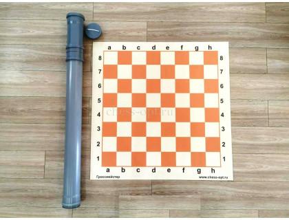 Шахматная демонстрационная доска для школ (в тубусе) 75 см оптом