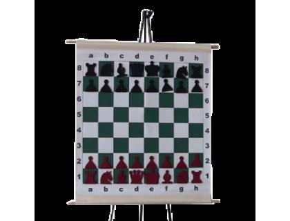 Шахматная демонстрационная доска виниловая 70