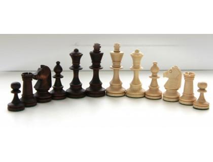 Шахматные фигуры деревянные Стаунтон №5 с утяжелителем оптом
