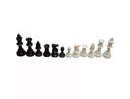 Шахматные фигуры Пластиковые с утяжелителем большие оптом