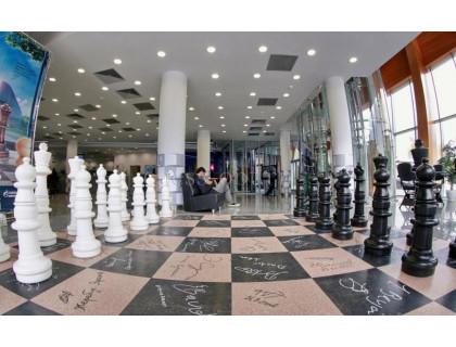 Напольные шахматные фигуры гигантские 122 оптом