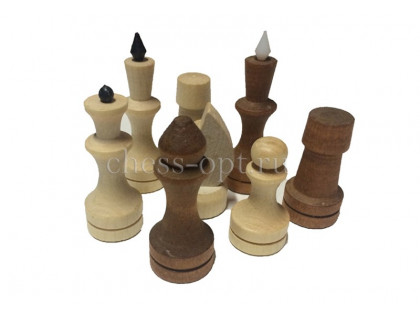 Шахматные фигуры обиходные парафинированные оптом