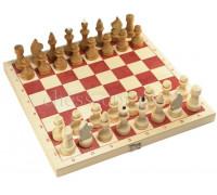Шахматы обиходные парафинированные с доской