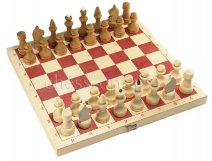 Шахматы обиходные парафинированные с доской оптом