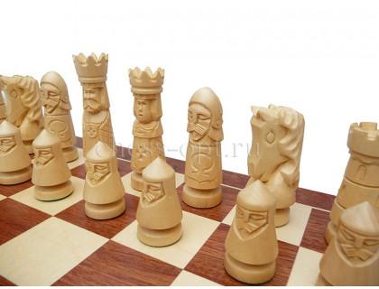 Шахматы Рождественские большие оптом