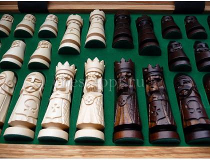 Шахматы Замок (Castle) средние