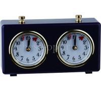 Часы шахматные Рубин синие