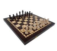 Шахматы деревянные 3 в 1 - шахматы, шашки, нарды