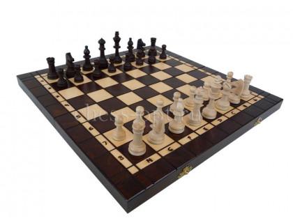 Шахматы деревянные 3 в 1 - шахматы, шашки, нарды оптом