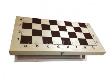 Деревянная шахматная доска малая оптом