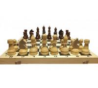 Гроссмейстерские утяжелённые шахматы  в комплекте с доской
