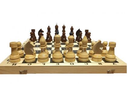 Гроссмейстерские утяжелённые шахматы  в комплекте с доской  оптом