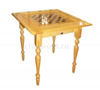 Стол шахматный Люкс + фигуры c выдвижными ящиками