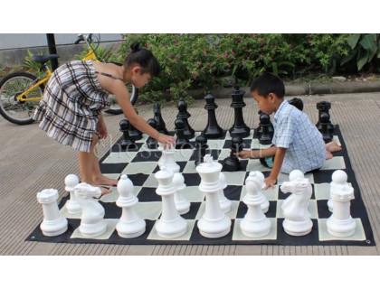 Напольные малые шахматы 31 с доской