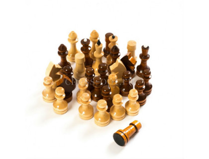 Шахматные фигуры гроссмейстерские с утяжелителем оптом