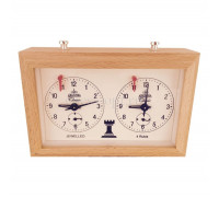 Механические шахматные часы Aradora (Арадора) деревянный корпус
