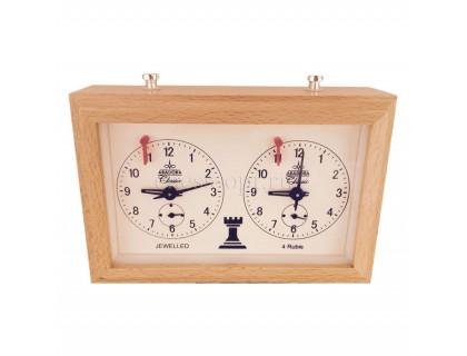 Механические шахматные часы Aradora (Арадора) деревянный корпус оптом