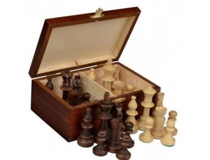 Шахматные фигуры Стаунтон 6 в деревянном ларце Wiegel