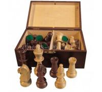 Шахматные фигуры Стаунтон 4 в деревянном ларце Wiegel