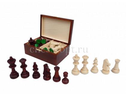 Шахматные фигуры Стаунтон 5 в деревянном ларце Wiegel оптом