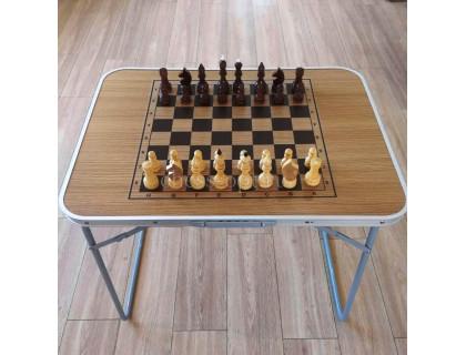 Шахматный стол складной дуб оптом